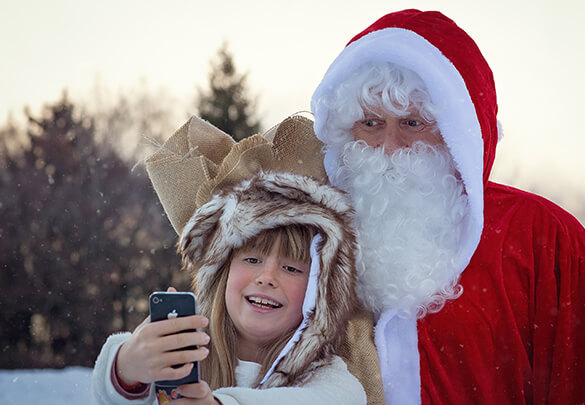 Visit Santa in Santa Claus Village