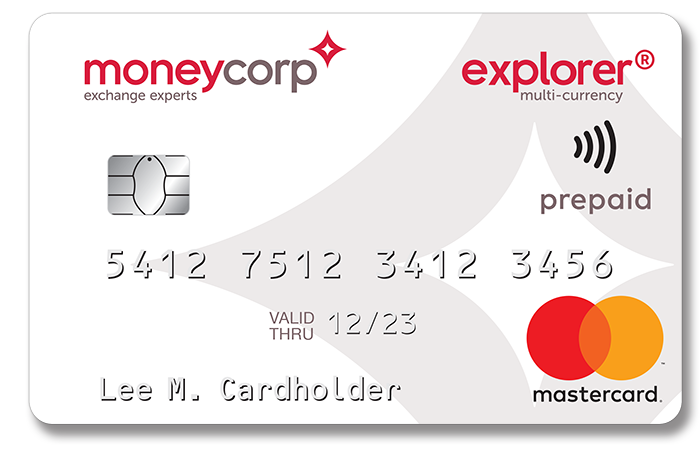Ebay Mastercard Login >> White Explorer Card Moneycorp